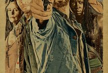 The walking dead / RICK Grimes , Darryl Dixon