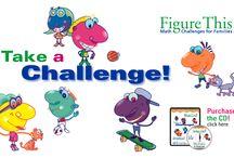 math challenge wall