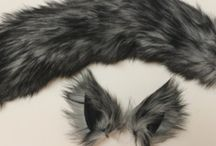 Wolf ears and tails