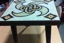 Mozaik ev dekorasyon