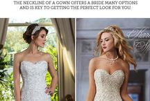 Wedding Dress Advice / Let us help you become an expert learning all about wedding gowns.