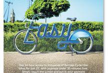Miejskie Kampanie / Przykłady ciekawych kampanii reklamowych stosowanych przez miasta.