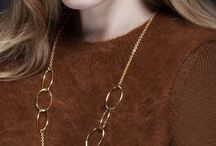 Orbit / 18ct yellow gold vermeil collection with a contemporary, open design style; perfect for a relaxed weekend look.