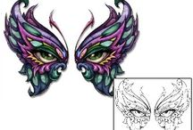 Butterfly Tattoos / Butterfly Tattoo designs created by Tattoo Johnny Artists