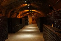 Beautiful cellars / Because keeping wine once it is made is extremely important, here are some beautiful cellars