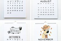 ILLUSTRATION: Calendars