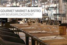 Buda Gourmet - market & bistro / Óbuda gastro fellegvárában a volt Új-Udvarban nyílt meg a Buda Gourmet market & bistro, közel 3.000m2 alapterületen, így itt tényleg mindent megtalál, aki minőségi alapanyagot keres vagy aki enni szeretne egy jót, minőségi alapanyagokból.