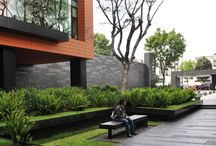 Landscaping for apartment buildings