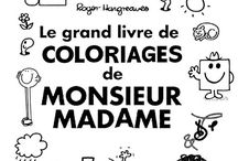 Coloriages Monsieur Madame