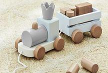 Zabawki drewno