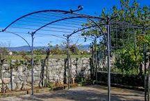 metal garden tunnel