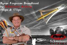 """Byron Ferguson Broadhead by Schmeisser Archery / The broadhead for the Archery legend """"Byron Ferguson"""". Made by Schmeisser Archery in Austria."""