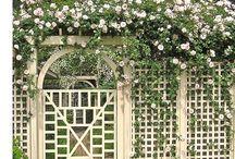 Garden partition