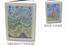 Christian Journals / Inspirational journals and notebooks with beautiful cover designs incorporating Scripture verses.