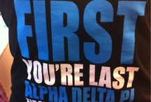 Alpha Delta Pi Just Shirts / by Marcia Looper