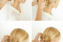 How To Hair Style / Inspiration to make your own hair style
