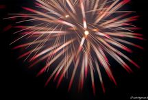 Fireworks | Feuerwerk / normal ones and out of focus technic