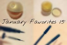 beauty month favorites!