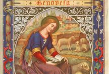 Ste Genevieve / Patroness of Paris - many of these sites are in French