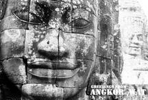 Travel postcards - Asia