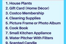 Housewarming / Tips for housewarming parties and housewarming gift ideas or just ideas for gifts for new homeowners.  #Housewarming #GiftIdeas #Homeownership