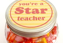 Teacher Appreciation Gifts / Gift ideas for Teacher Appreciation Week or end of the year