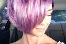 Lila hair / My hair inspiration