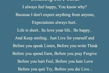 Quotes that I like
