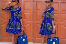 Afri can dress me up