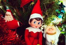 Elf on the Shelf / Elf on the Shelf arrived at our house in 2014 - I am amazed with all the cheeky elves from all over the web - thank you to you all for your inspiration x