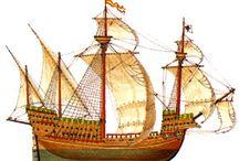 帆船 / ガレオン船などの参考資料