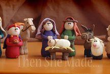 homemade nativity