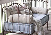 cast iron beds