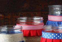 Patriotic Americana / Fourth of July fun / by Susan Johnston