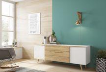 Colección eDHition / Aspen y Moritz son dos programas de muebles funcionales para el salón con líneas definidas y que combinan perfectamente lacados en colores neutros con maderas como el nogal y el roble. Un diseño de Enrique Martí Associates.