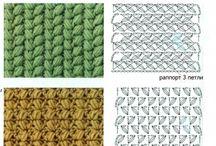 horgolt minták