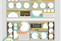 LGFD Templates / by Little Green Frog Designs
