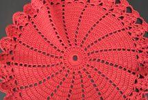 tapetes o paños a crochet