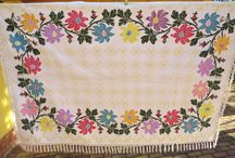 ANTIQUE HAND EMBROIDERY