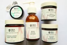 Ora Wellbeing Bespoke Holistic Skincare / Beautifully hand crafted bespoke holistic skincare made with organic ingredients and vibrational essences from crystals and New Zealand plants to assist your skins transformation to glowing.