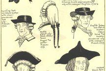 18th Century Men's Hats