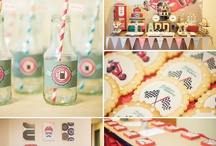 Vintage Cars Party / Car party ideas for 2nd Birthday