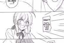 Fate Comics/Doujinshi