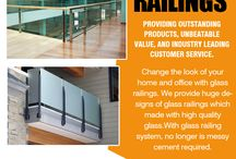 Glass Handrails In Mississauga