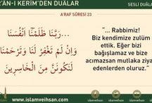 Kuran-ı kerimden dualar