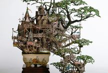 Miniature Magic / Fairy Doors, Dollhouses and other Miniatures  / by Christa Powell
