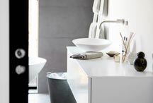Design badeværelser / Inspiration til dit badeværelse