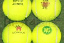 Printed Tennis Balls / Logo, text and photo printed tennis balls with no minimum order quantity.