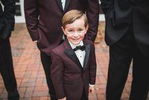 Real Weddings Wearing Fun Colors