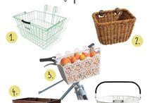 Košíky a vychytávky na kolo